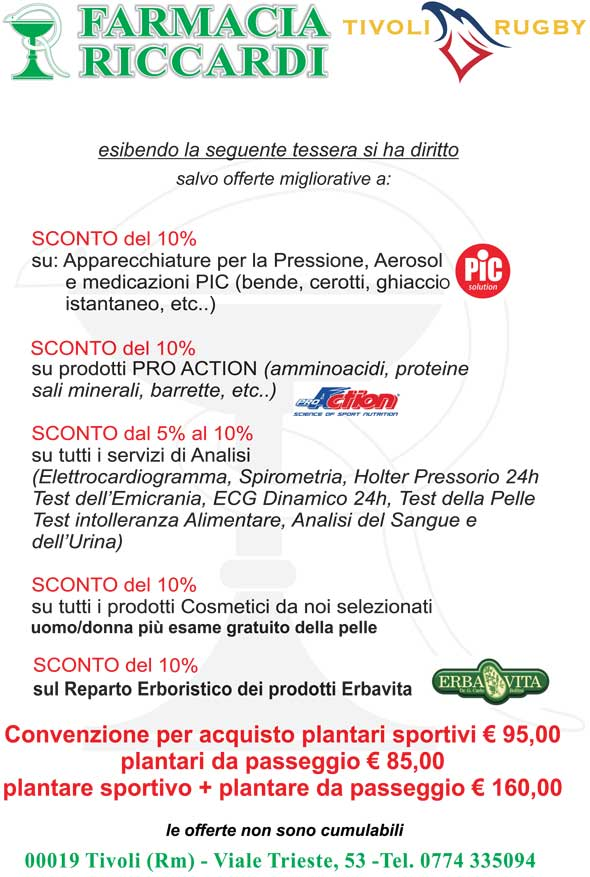 Locandina Farmacia Riccardi