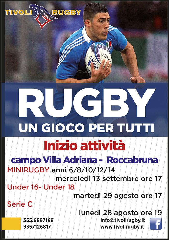 Tivoli Rugby, pronti per la nuova stagione